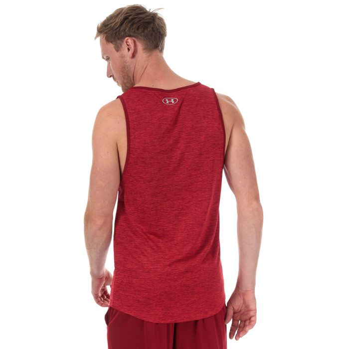 Men's Under Armour Tech 2.0 Tank Top in Red