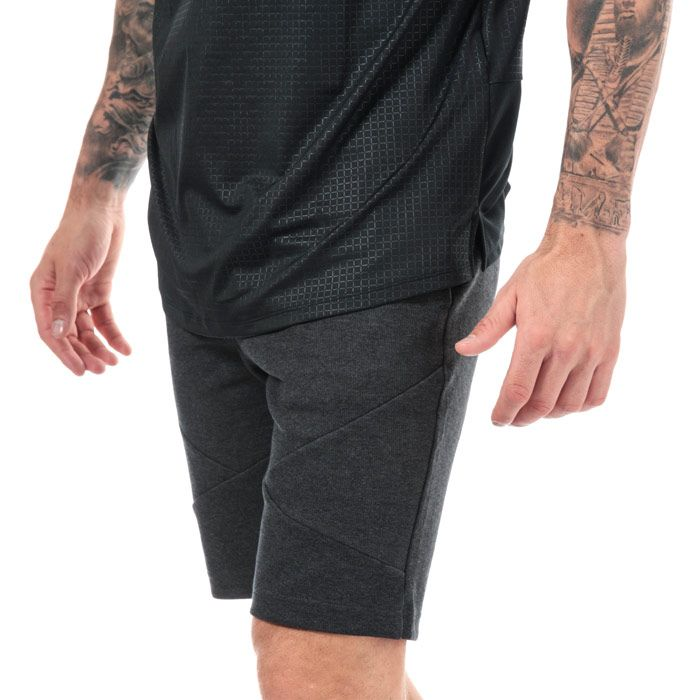 Men's Under Armour UA Unstoppable Double Knit Shorts in Black