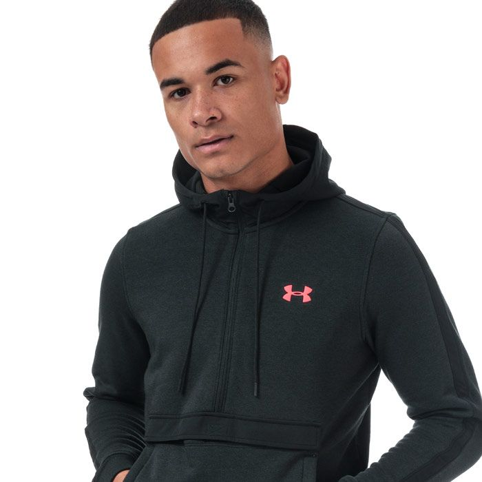 Men's Under Armour Microthread Fleece Anokak in Black