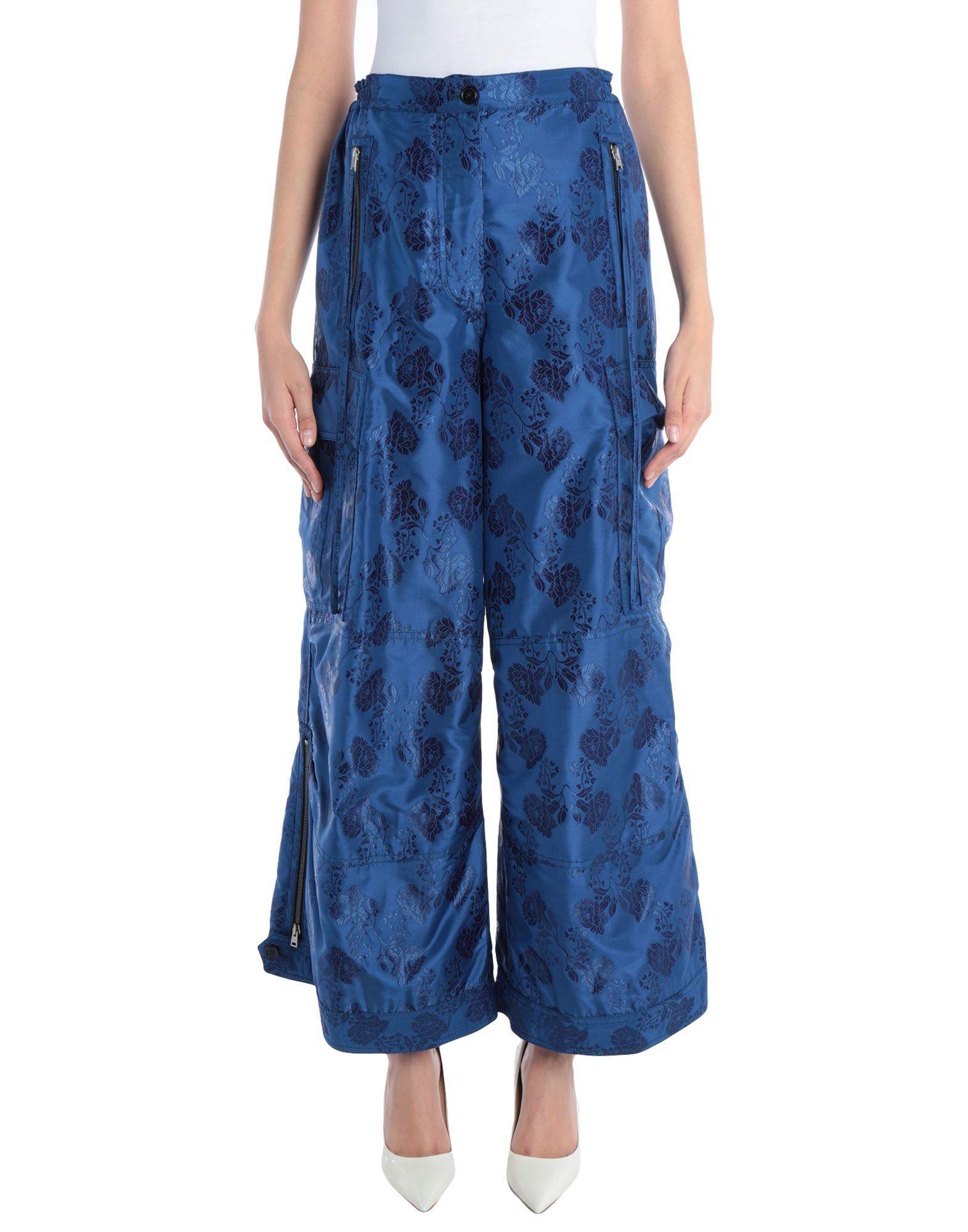 TROUSERS Woman Marni Blue Acetate