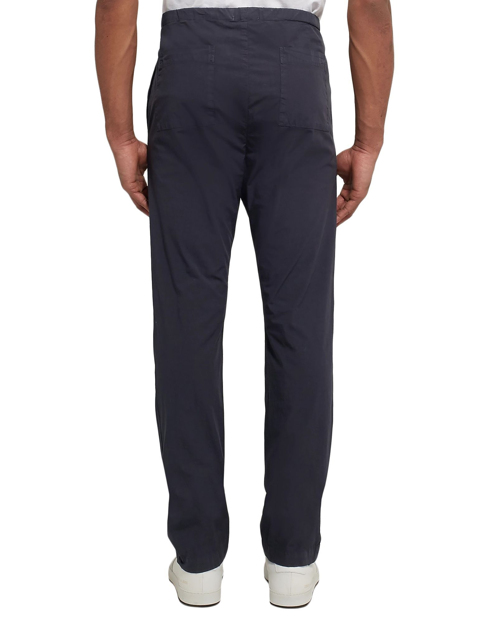 James Perse Dark Blue Cotton Trousers