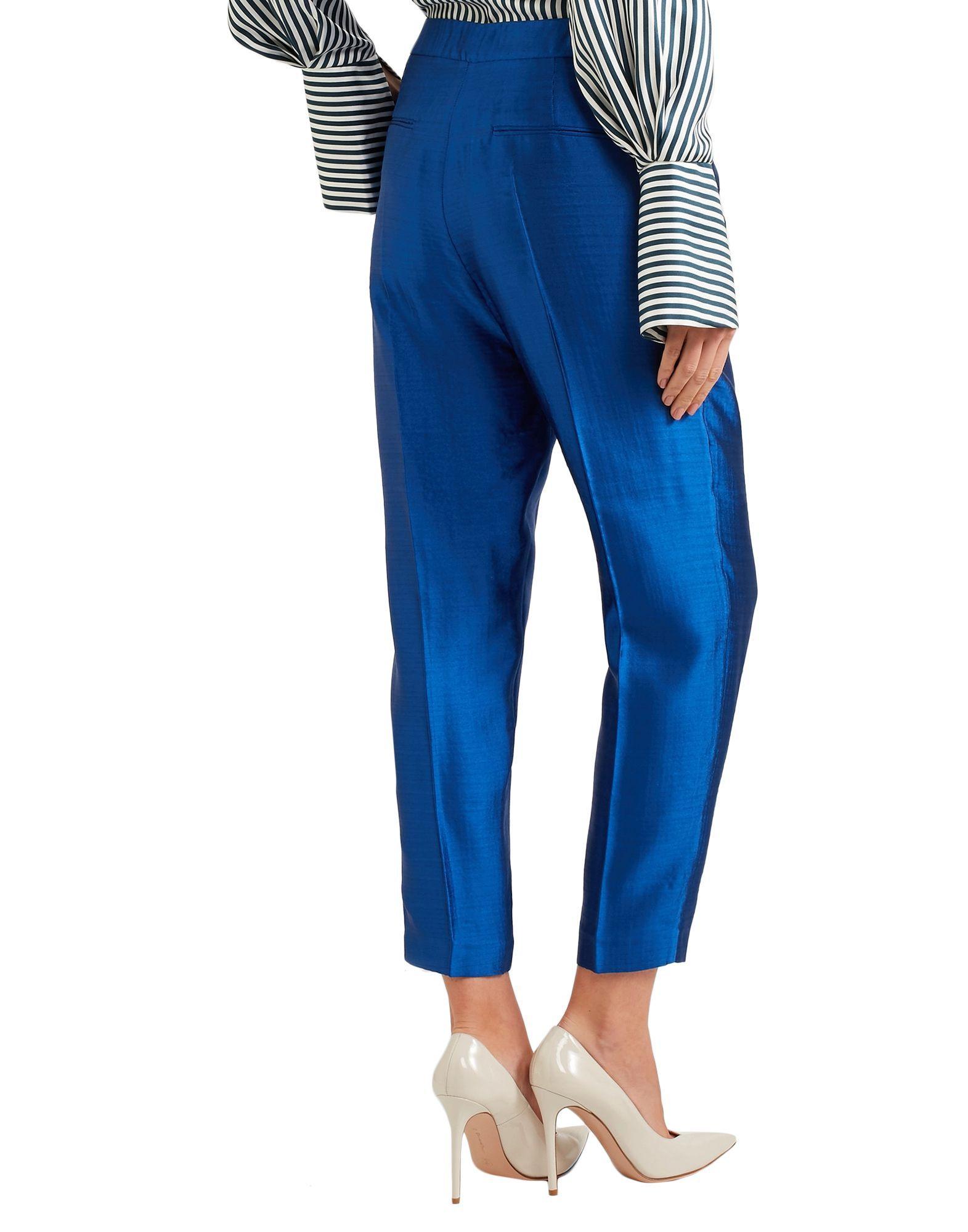 TROUSERS Woman Roksanda Bright blue Virgin Wool