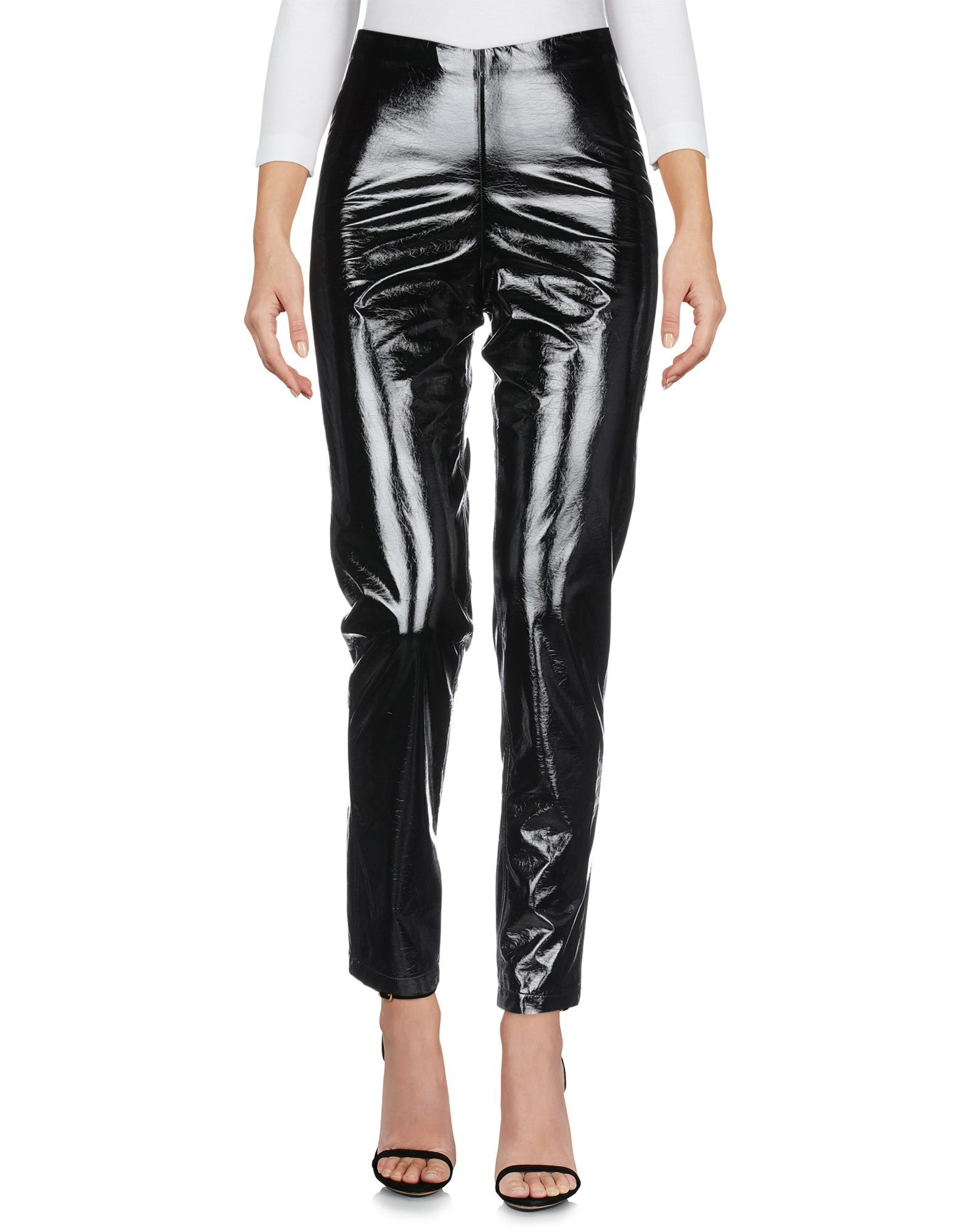 TROUSERS Federica Tosi Black Woman Polyester