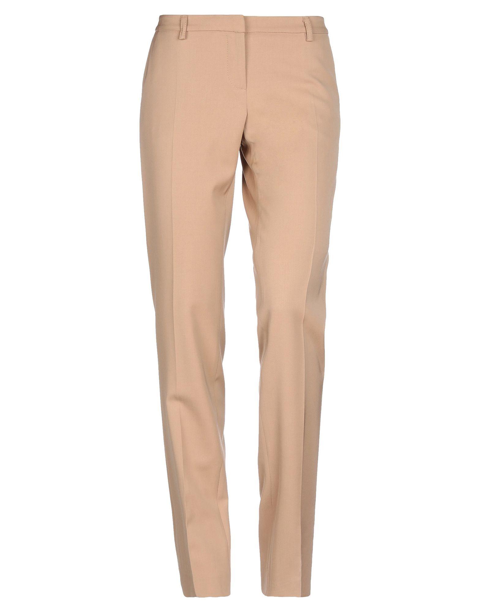 Trousers Shi 4 Camel Women's Virgin Wool