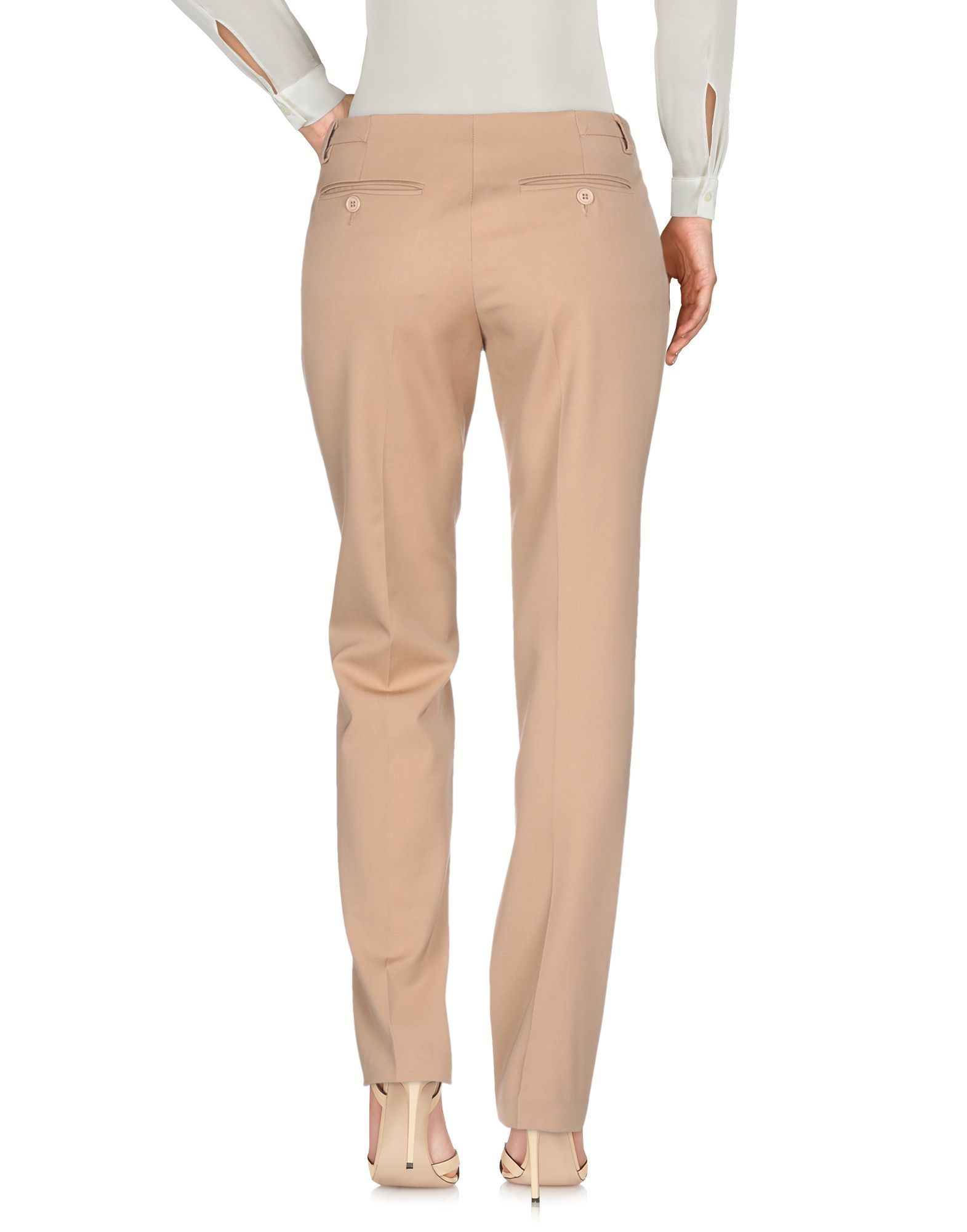 TROUSERS Shi 4 Camel Woman Virgin Wool