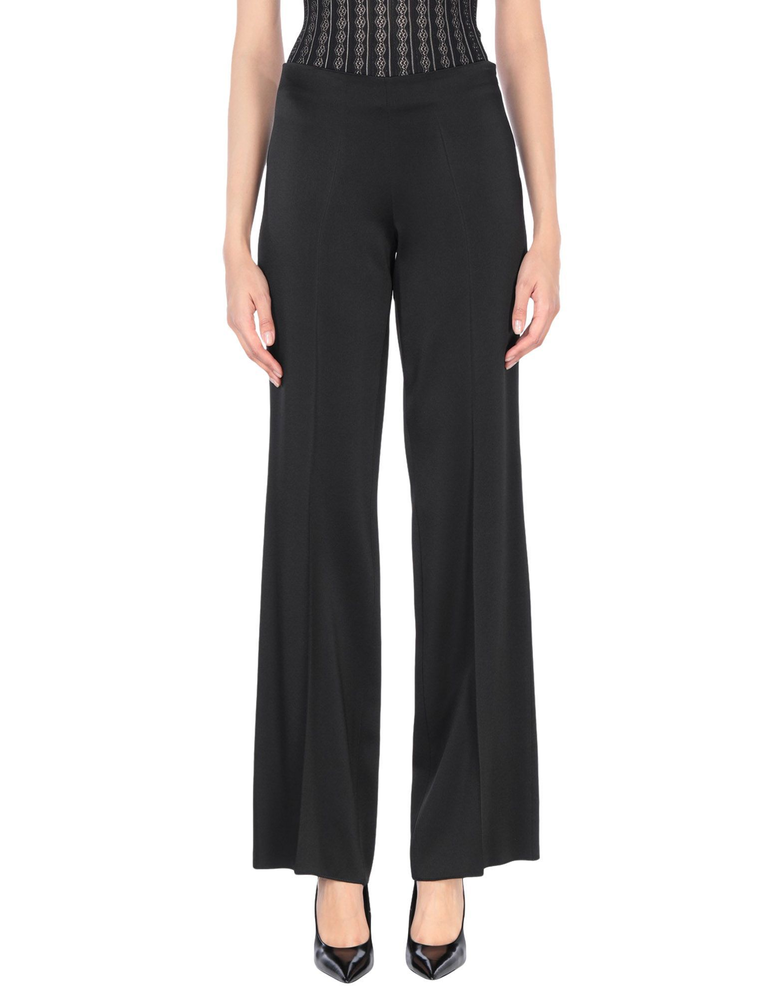 TROUSERS Miss Max Black Woman Acetate