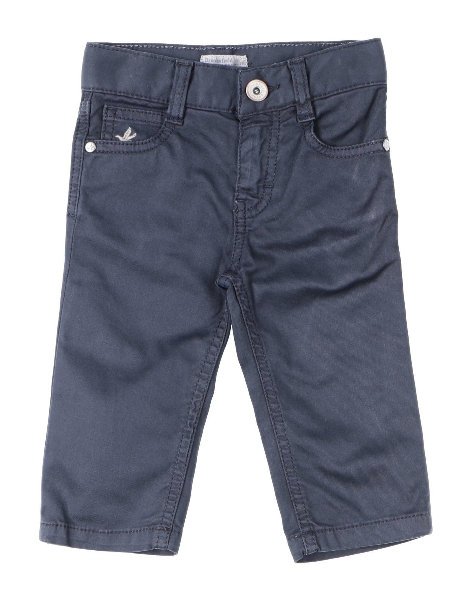 TROUSERS Boy Brooksfield Dark blue Cotton