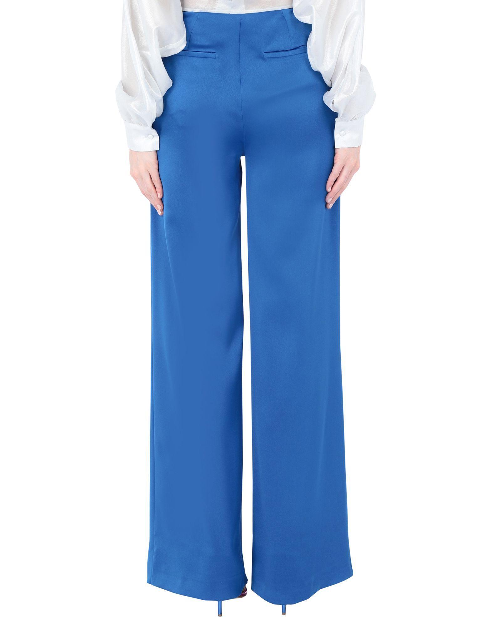 TROUSERS Woman Au Jour Le Jour Blue Polyester