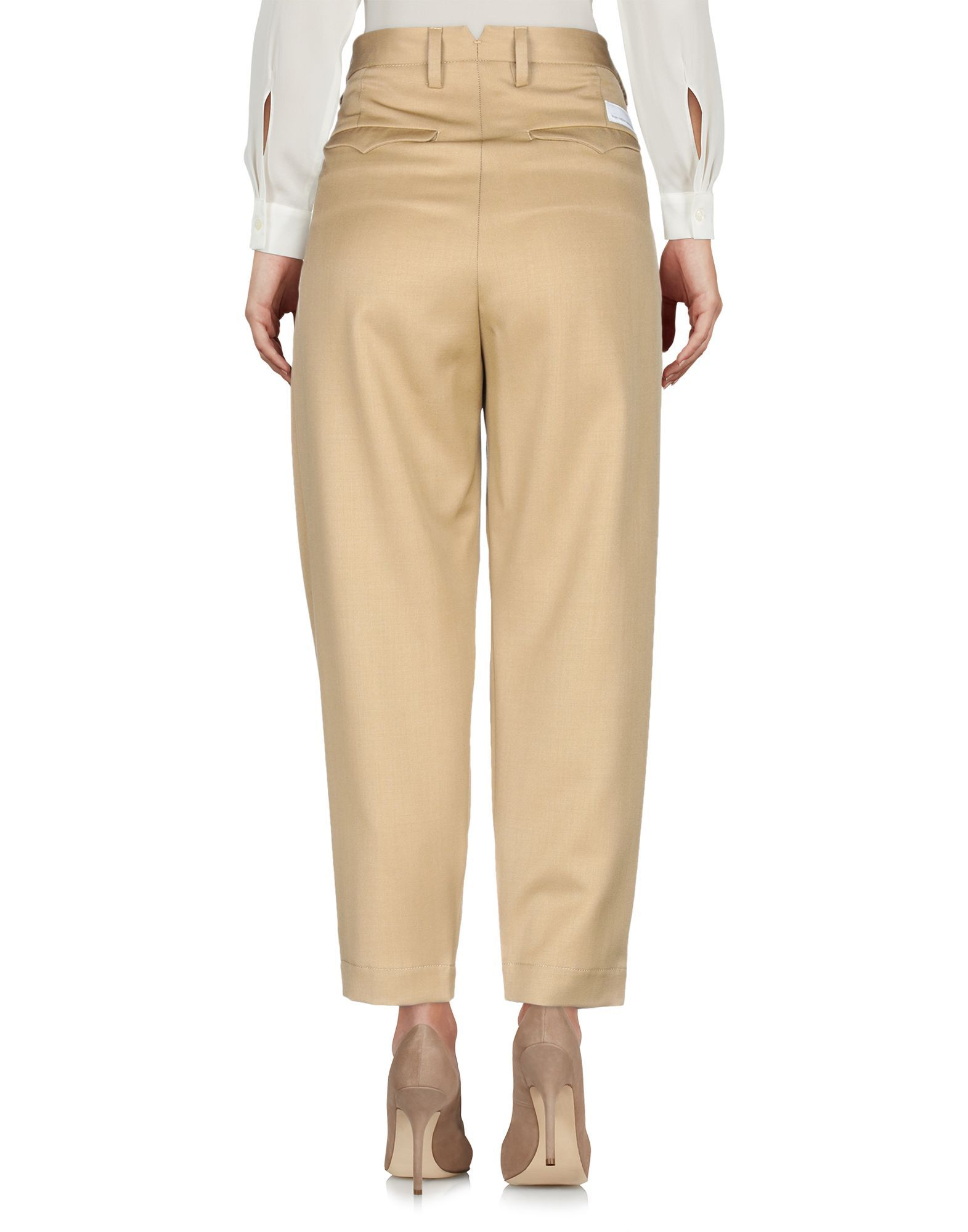 Nine:Inthe:Morning Camel Wool Trousers