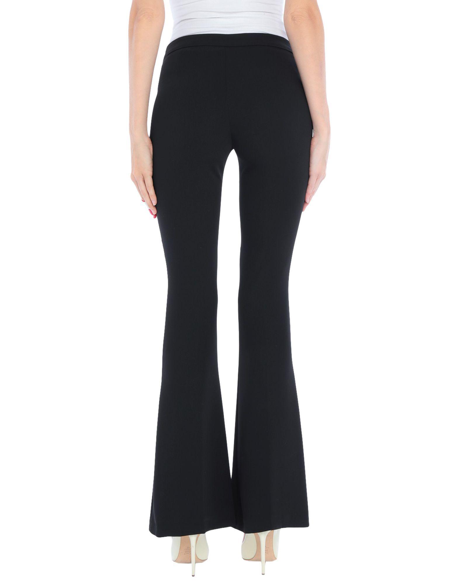 Trousers Compagnia Italiana Black Women's Polyester