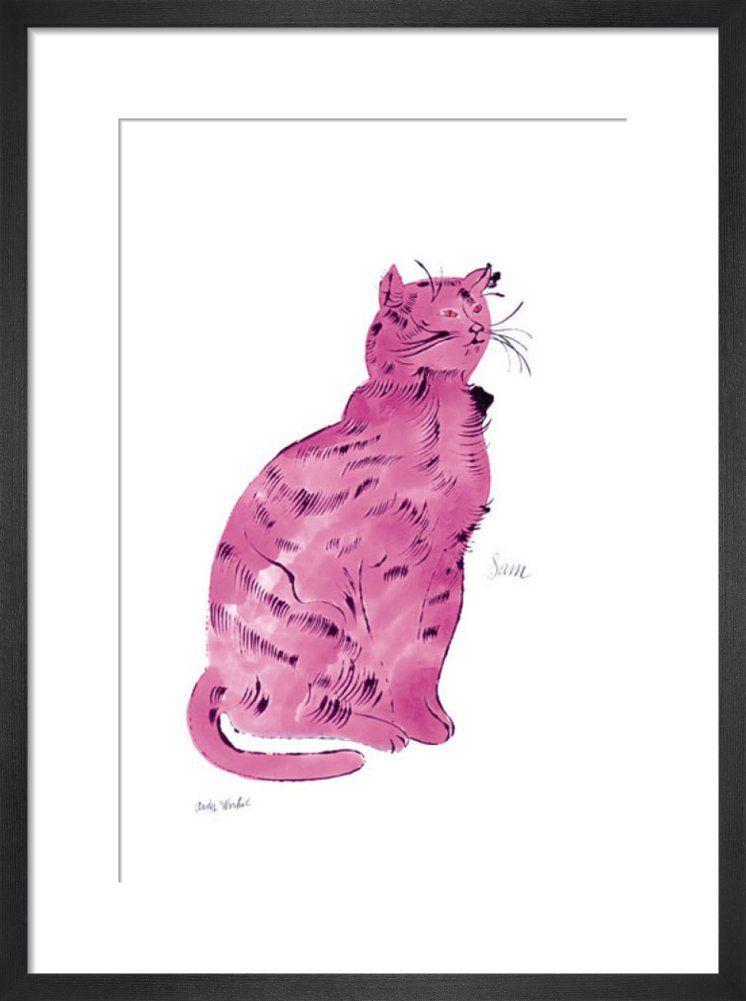 Pink Sam, c.1954 Art print by Andy Warhol