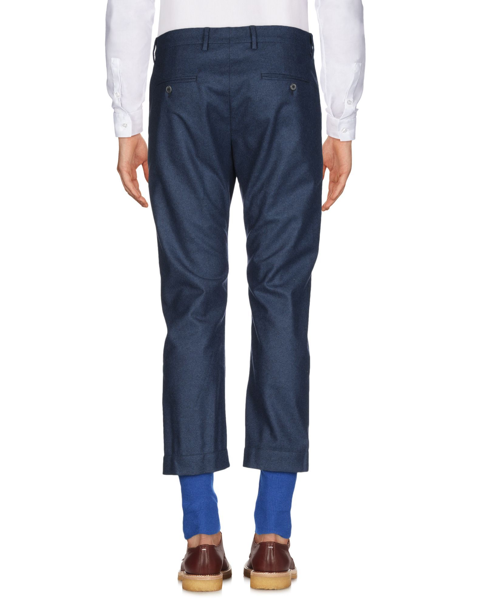 Mauro Grifoni Blue Wool Trousers