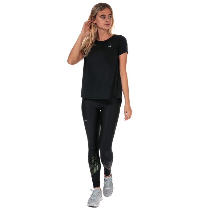 Women's Under Armour UA Whisperlight T-Shirt in Black