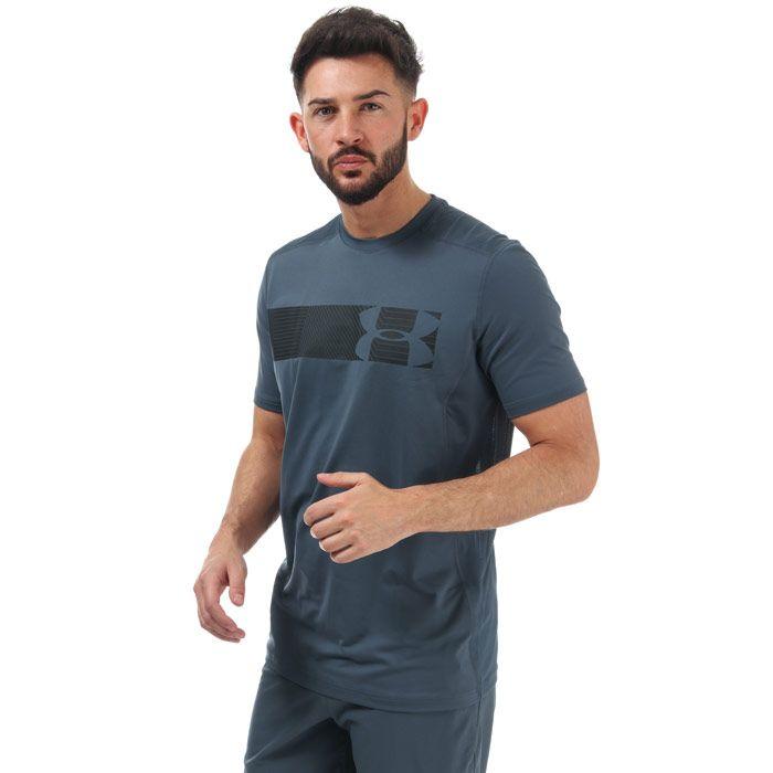 Men's Under Armour Raid Graphic T-Shirt in Grey