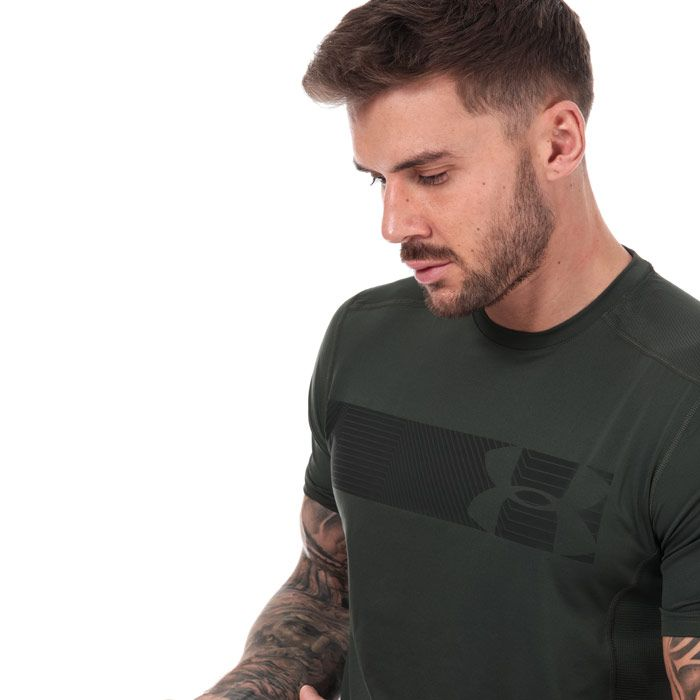 Men's Under Armour Raid Graphic T-Shirt in Green