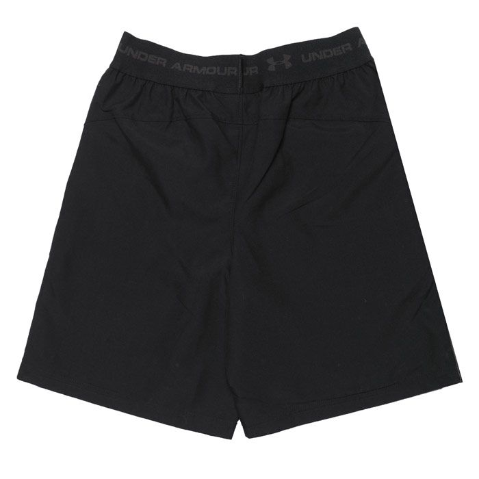 Boys' Under Armour Infant JD Woven Shorts in Black