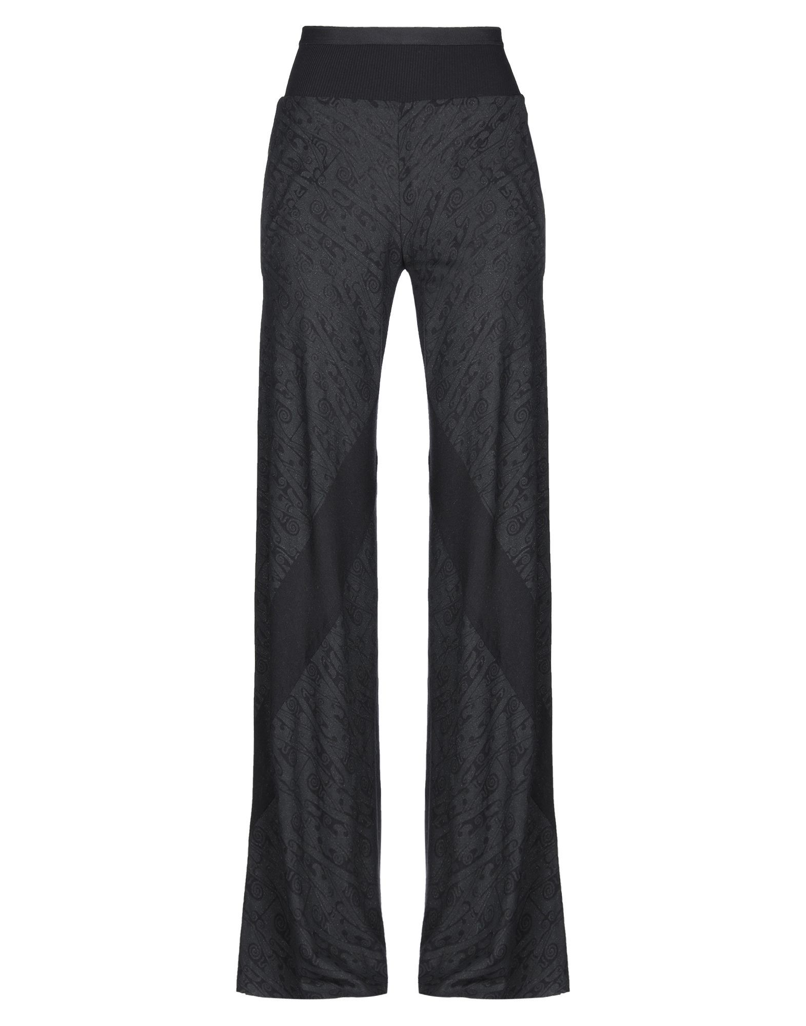 Rick Owens Lilies Black Jersey Regular Fit Trousers