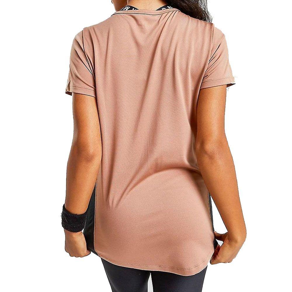 Under Armour Tech Colour Block Womens Shirt Bronze