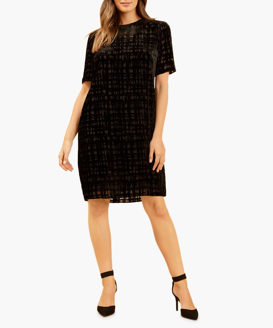 Farrow check mini dress
