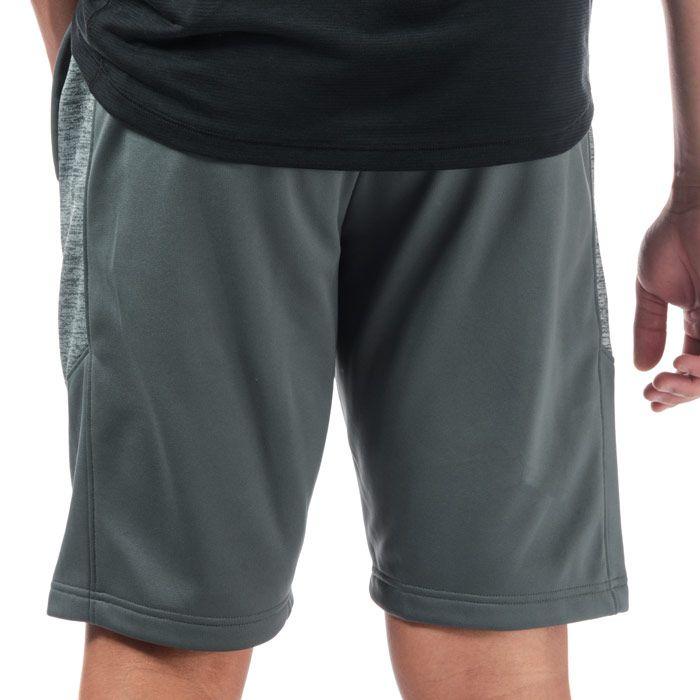 Men's Under Armour Armour Fleece Shorts in Grey