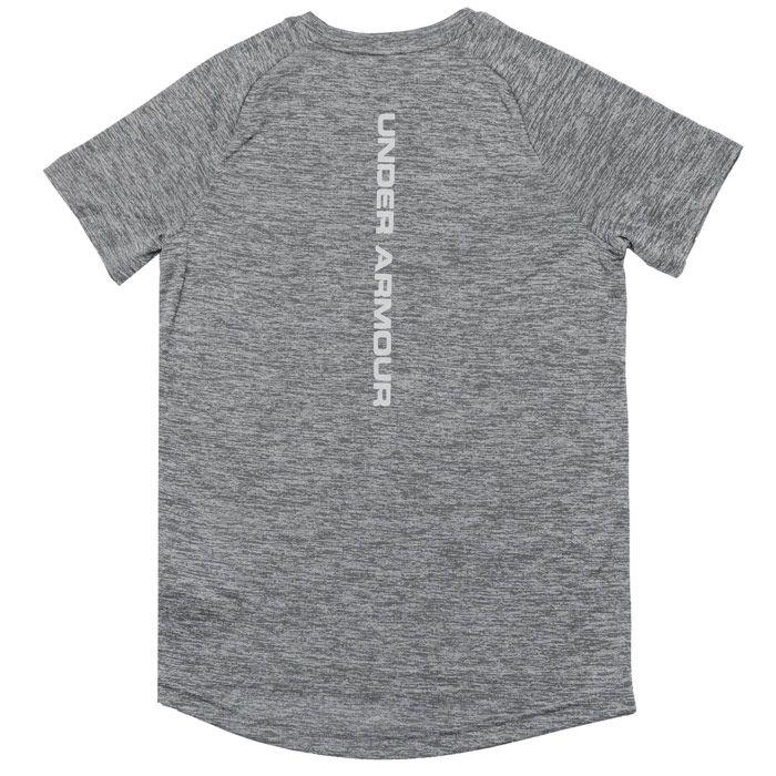 Boys' Under Armour Junior Reflective T-Shirt in Grey