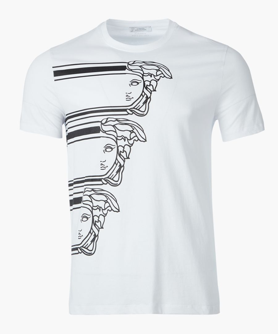 White medusa T-shirt