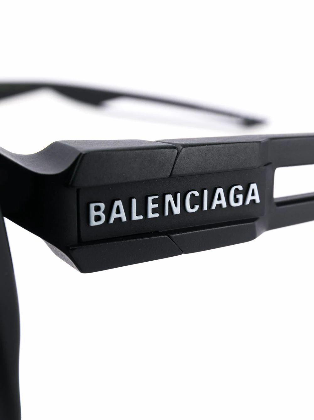 BALENCIAGA WOMEN'S 570625T00239181 BLACK ACETATE SUNGLASSES