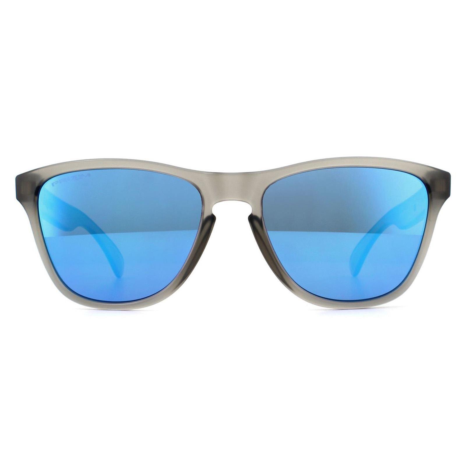 Oakley Sunglasses Frogskins XS OJ9006-05 Matte Grey Ink Prizm Sapphire Youth Fit