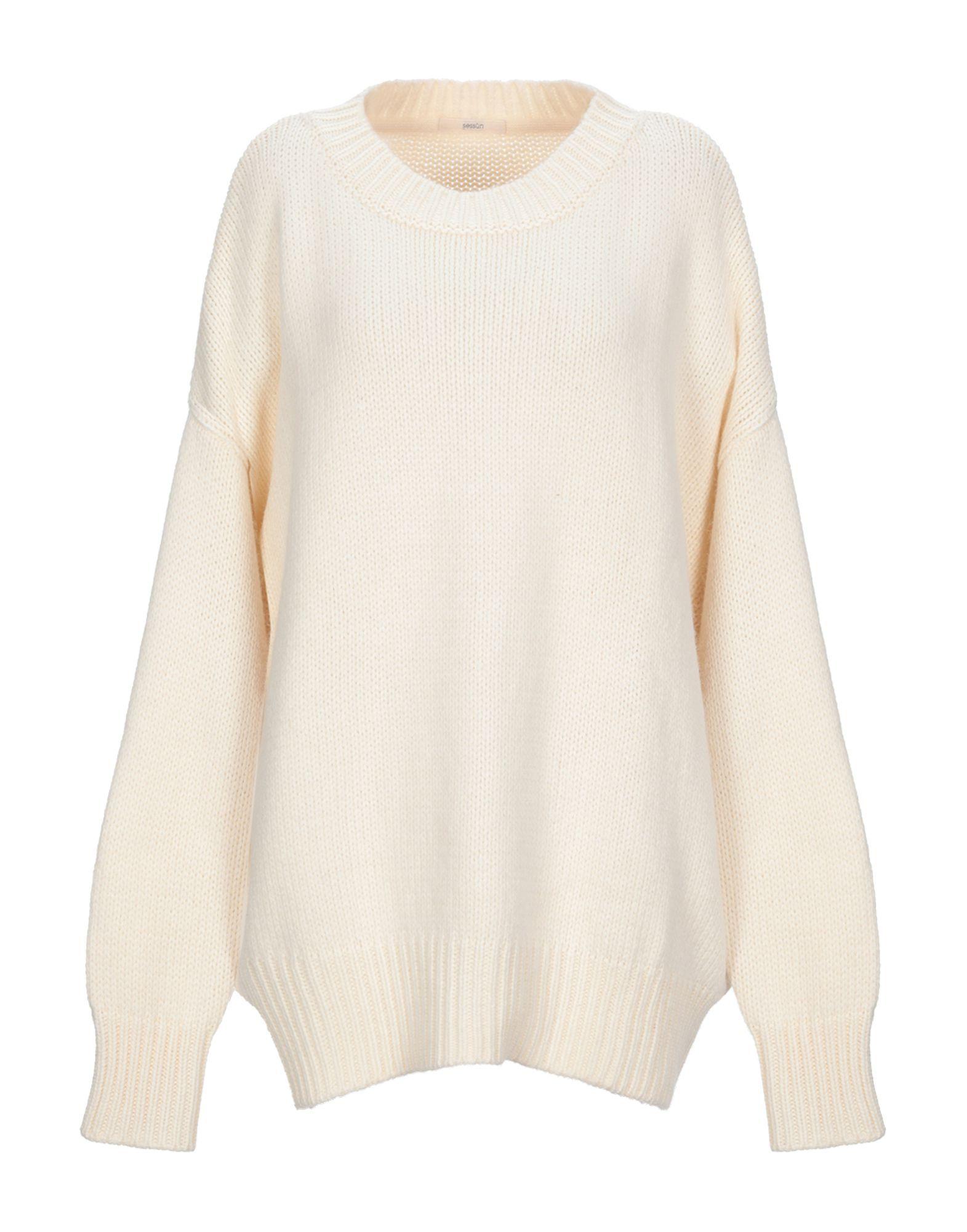 Sessun Ivory Knit Jumper