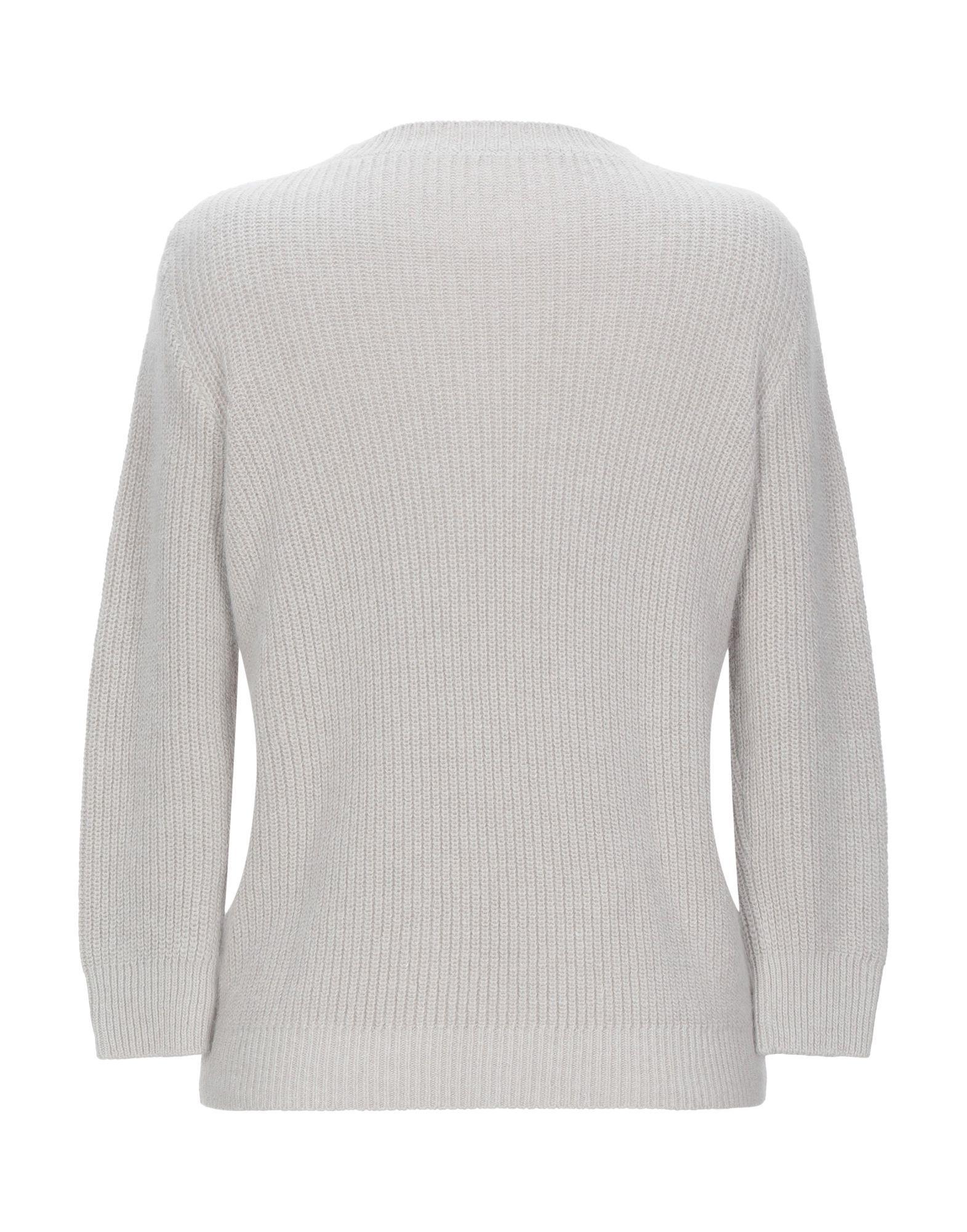 Emporio Armani Light Grey Angora Knit Jumper