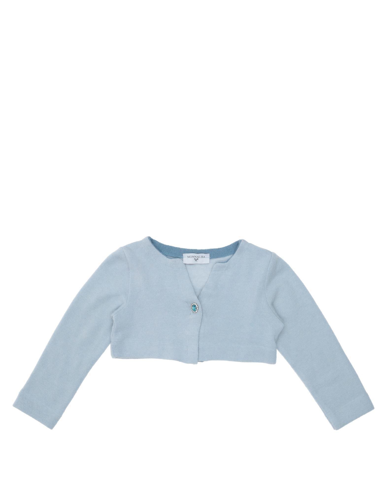 KNITWEAR Monnalisa Sky blue Girl Cotton