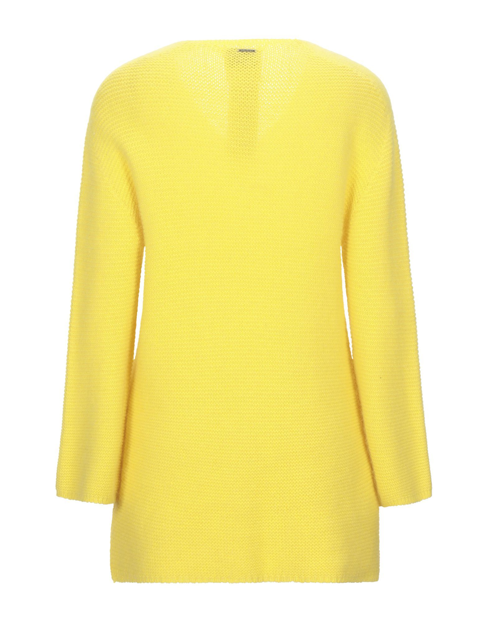 Annarita N Twenty 4H Yellow Angora V Neck Jumper