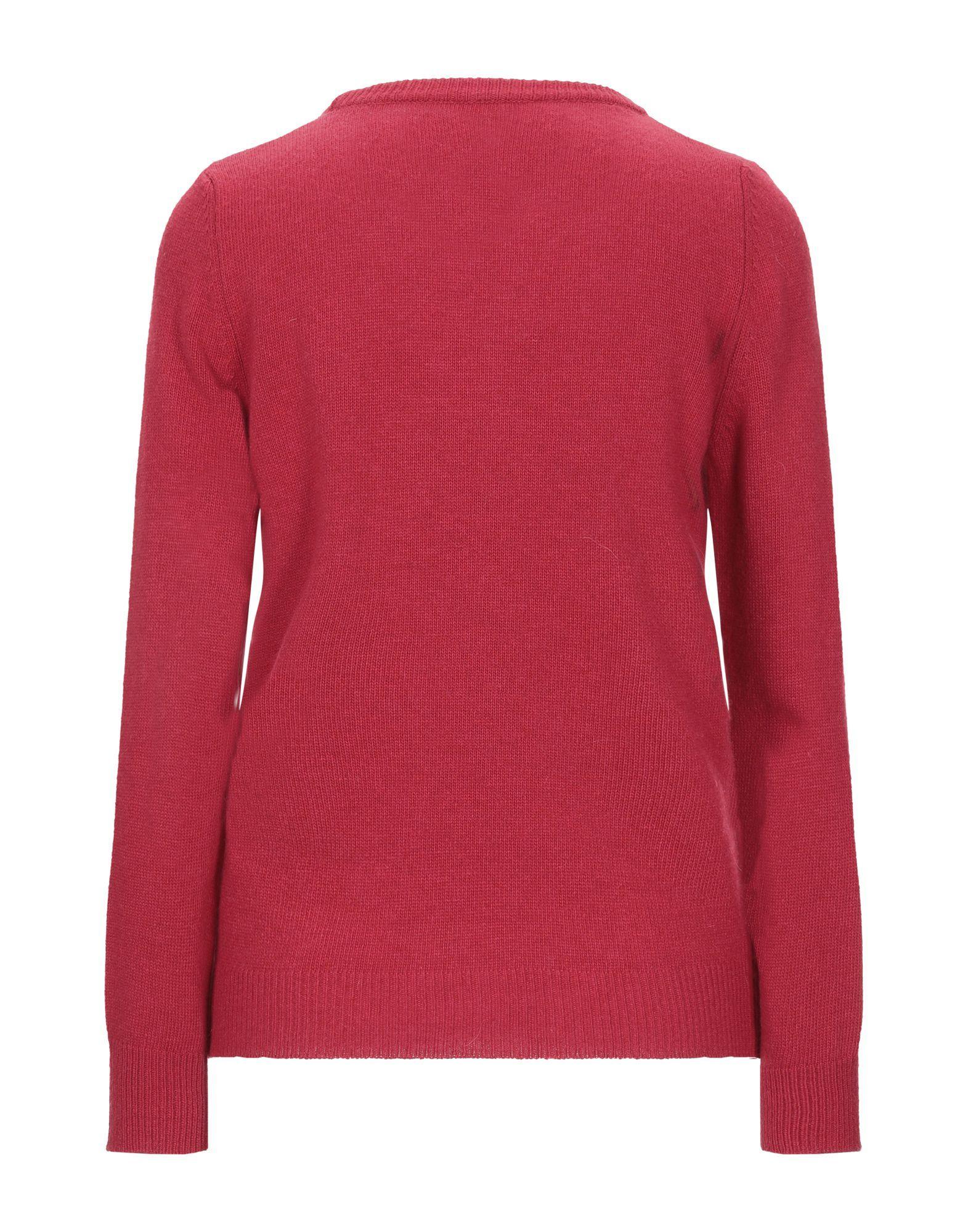 Knitwear Vicolo Red Women's Viscose