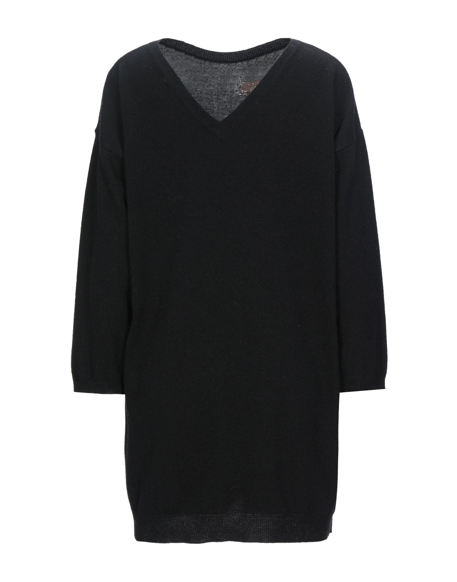 Kaos Jeans Black Lame Knit Jumper