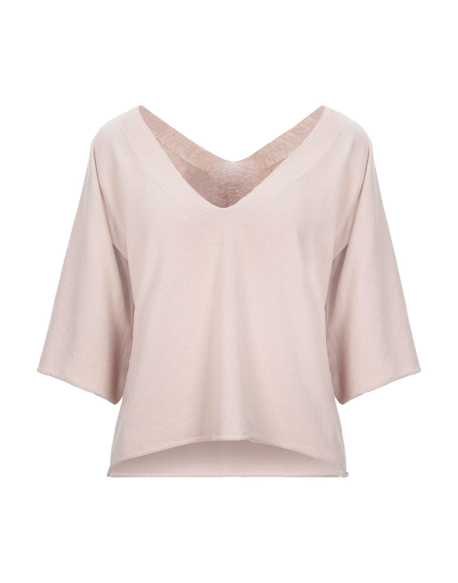 Vicolo Light Pink Lightweight Knit Jumper