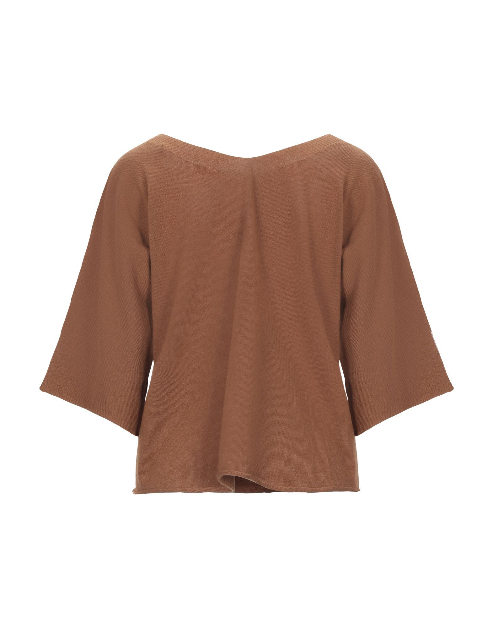 Vicolo Brown Lightweight Knit Jumper