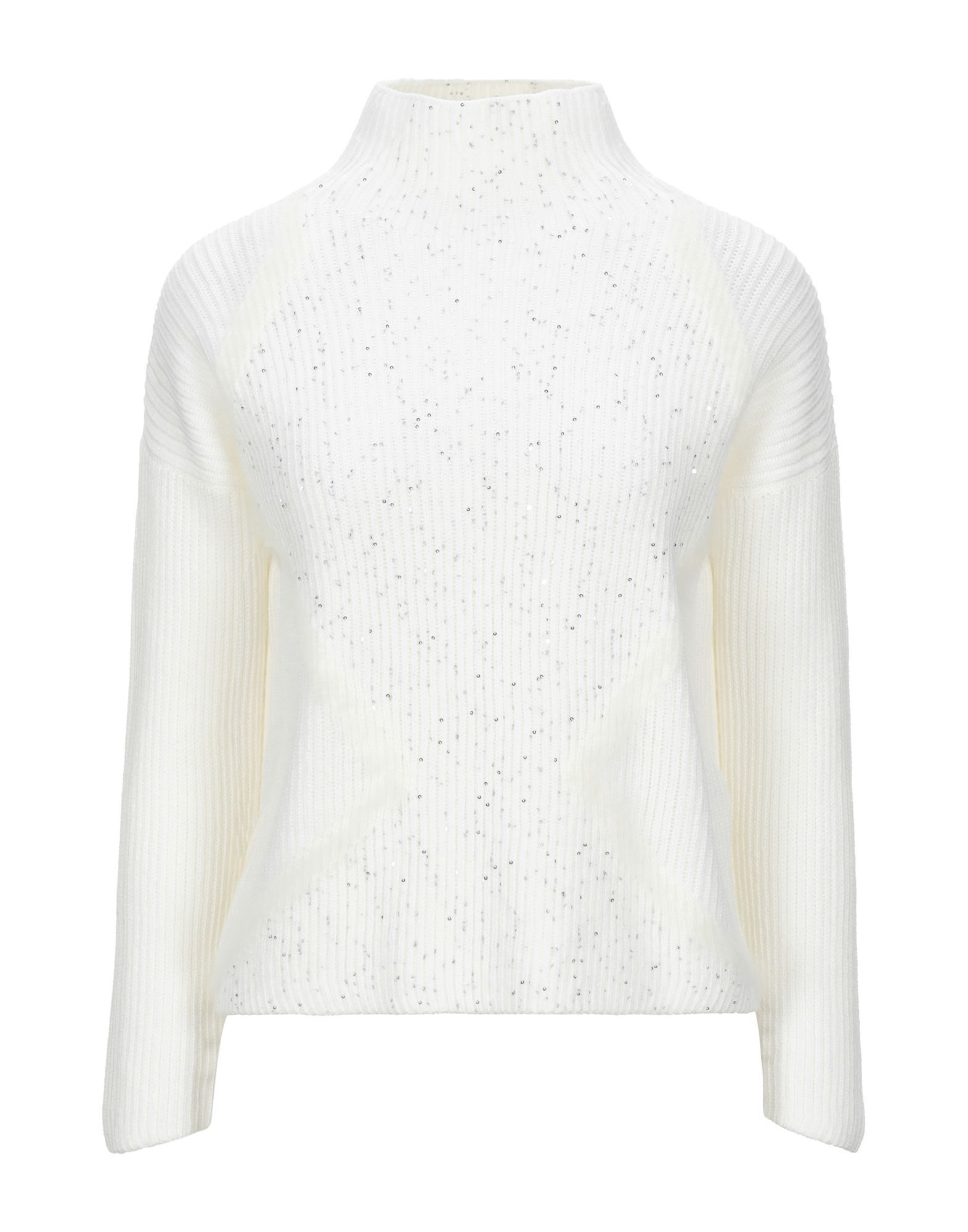 KNITWEAR Lorena Antoniazzi White Woman Virgin Wool