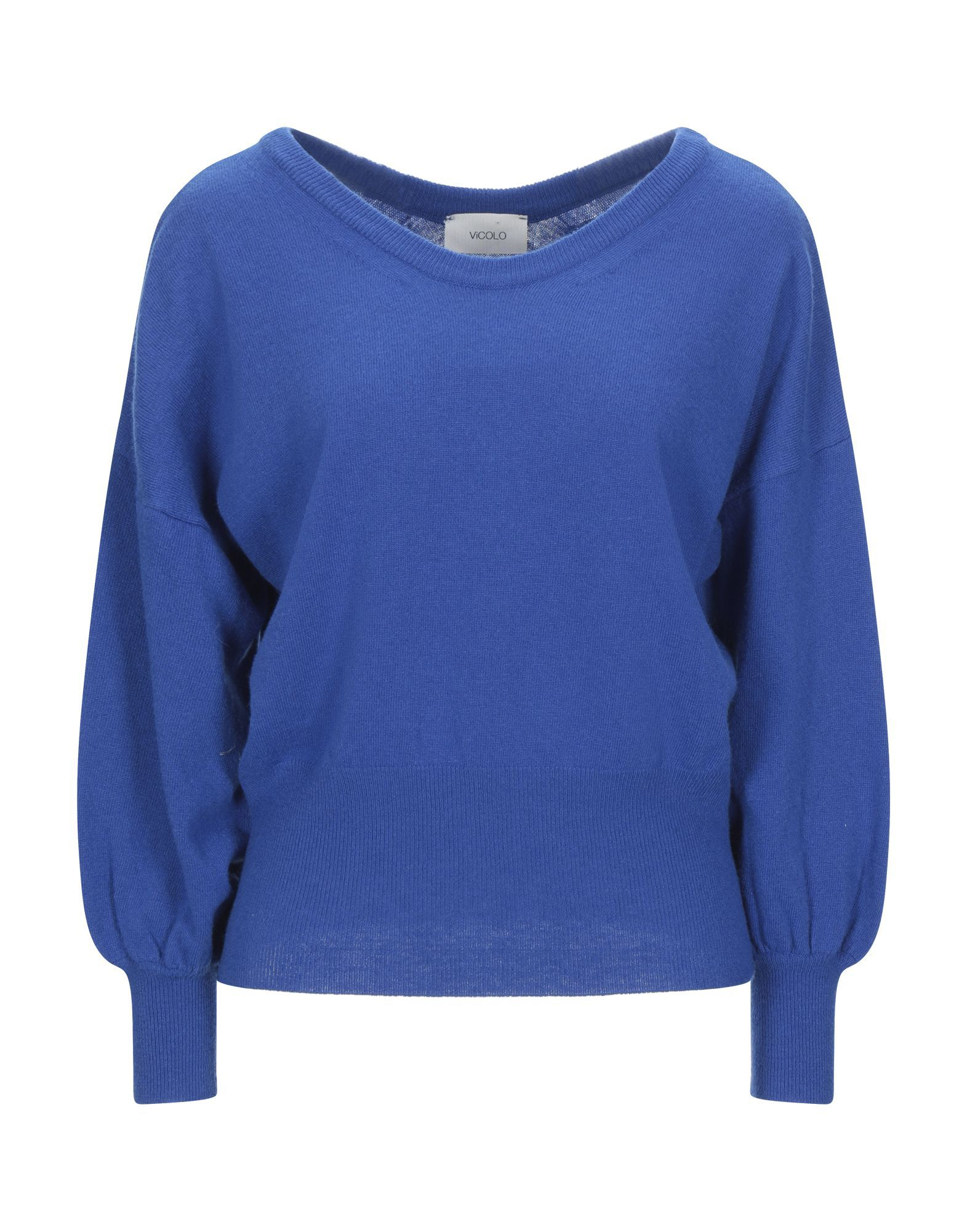 Vicolo Blue Lightweight Knit Jumper