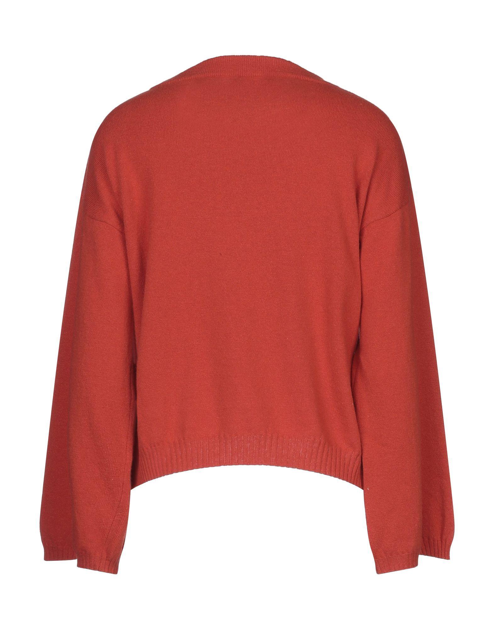 Vicolo Orange Lightweight Knit Jumper