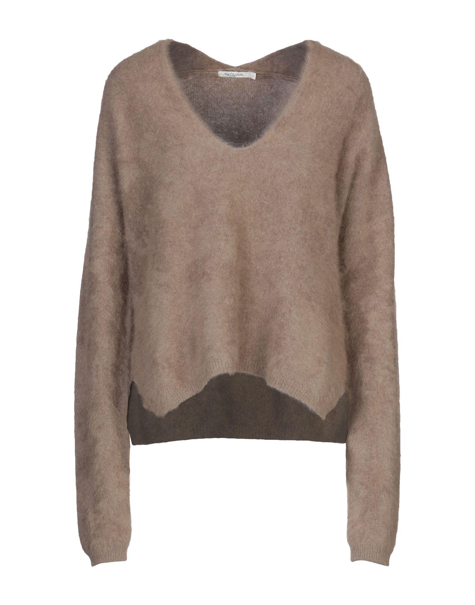 Knitwear Mes Demoiselles Khaki Women's Lana Di Racoon