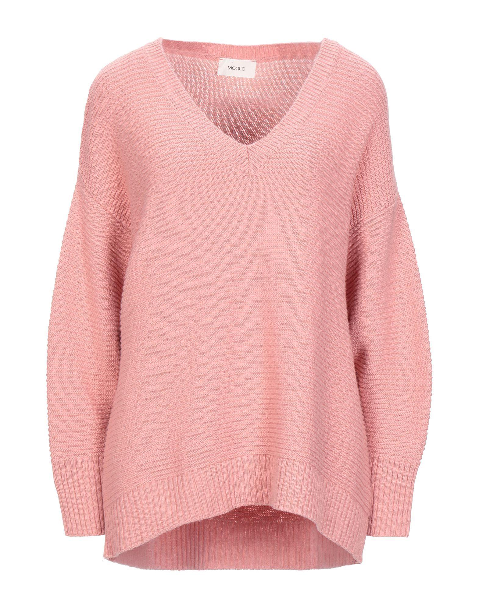 Vicolo Pink Knit Jumper