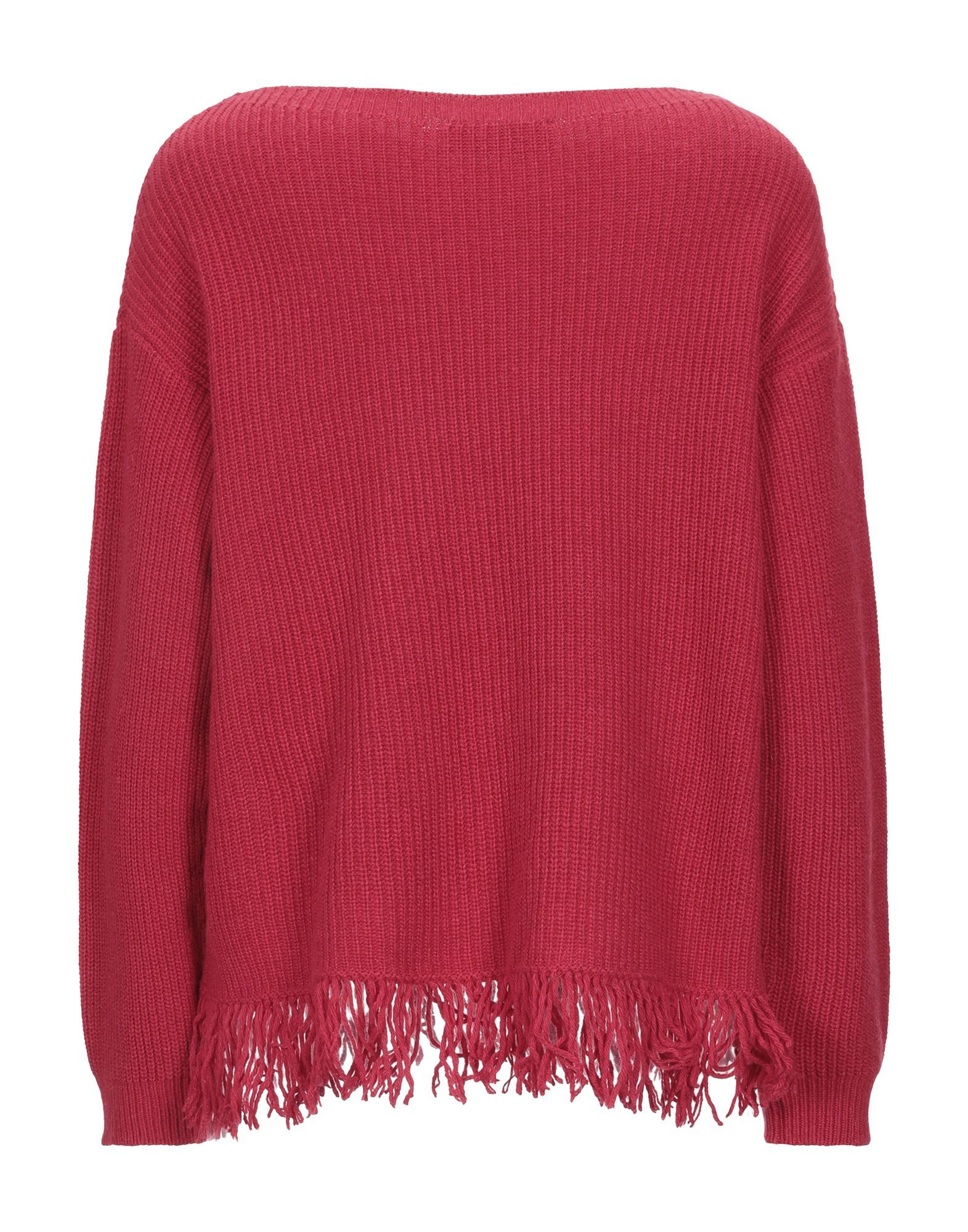 Kaos Red Sequin Knit Jumper