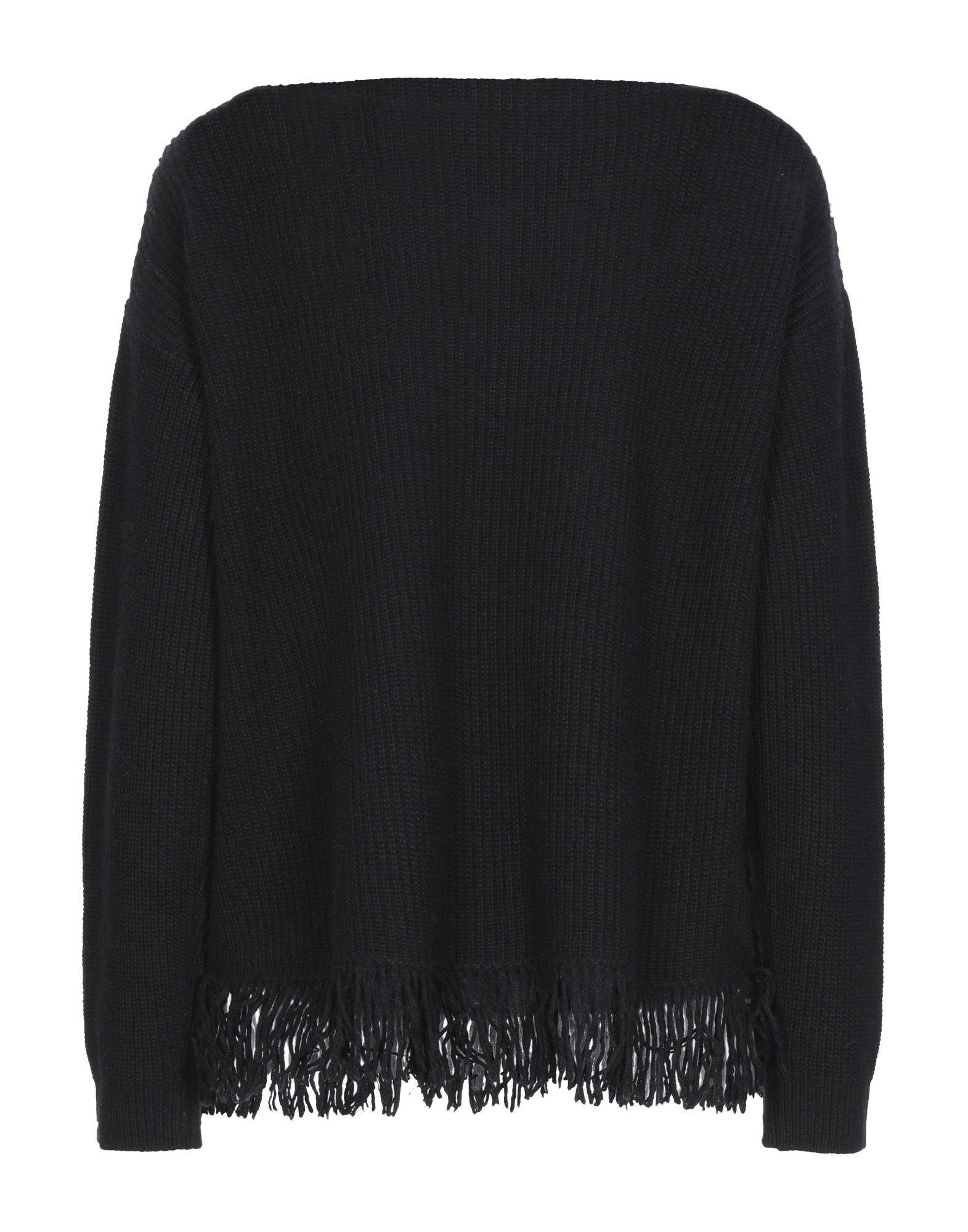 Kaos Black Sequin Knit Jumper