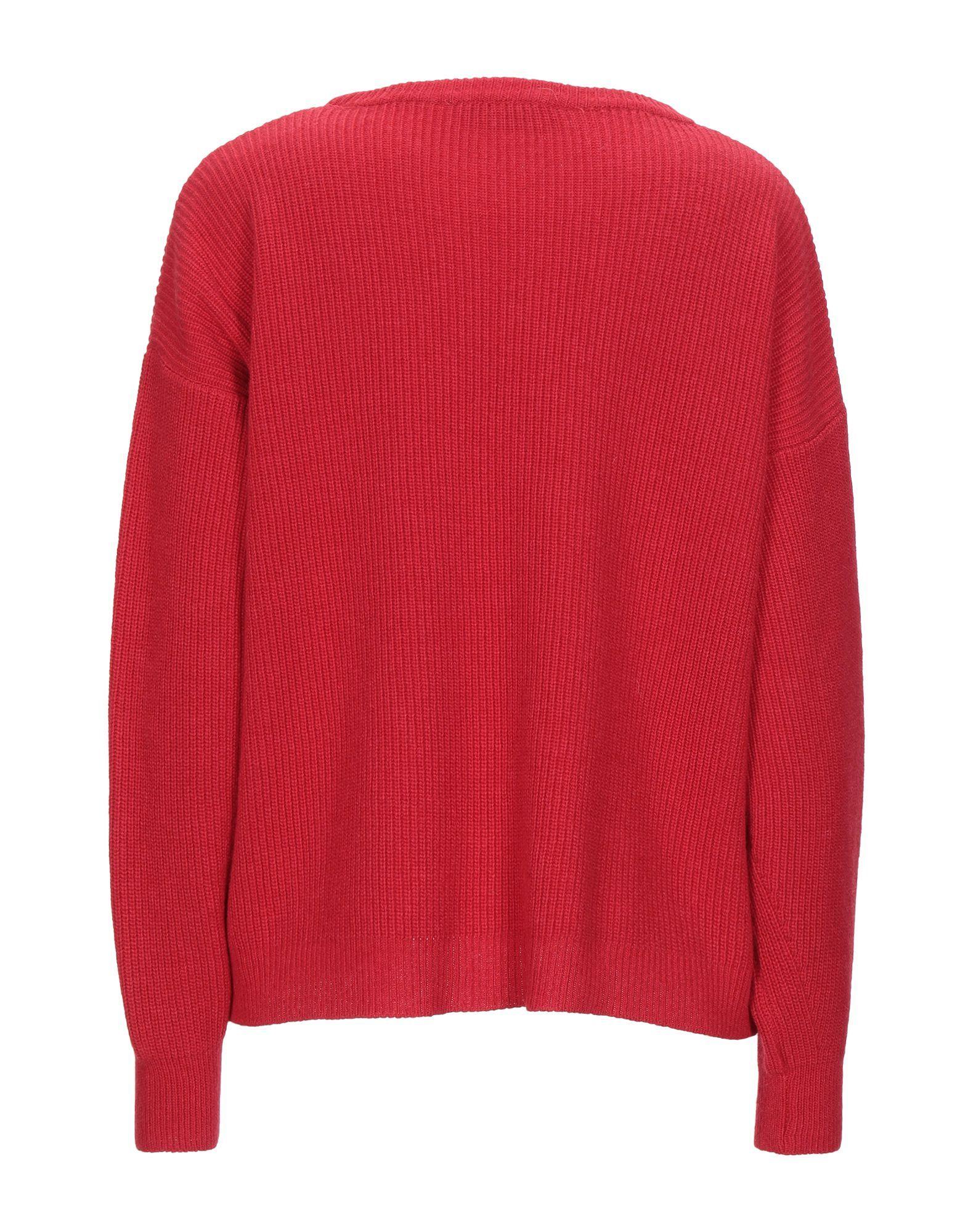 Kaos Red Lightweight Knit Jumper