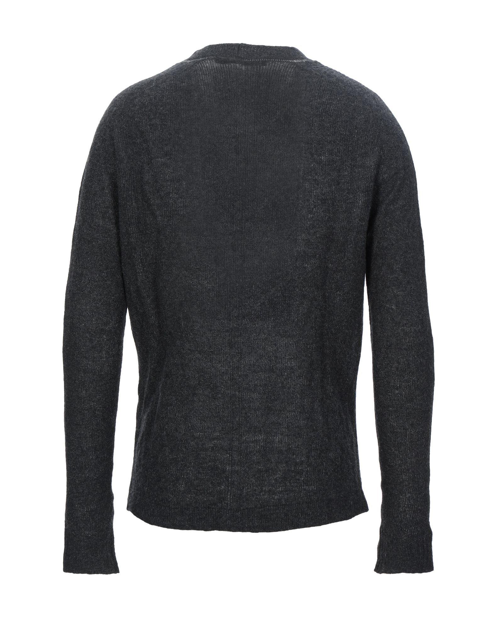 KNITWEAR Messagerie Steel grey Man Wool