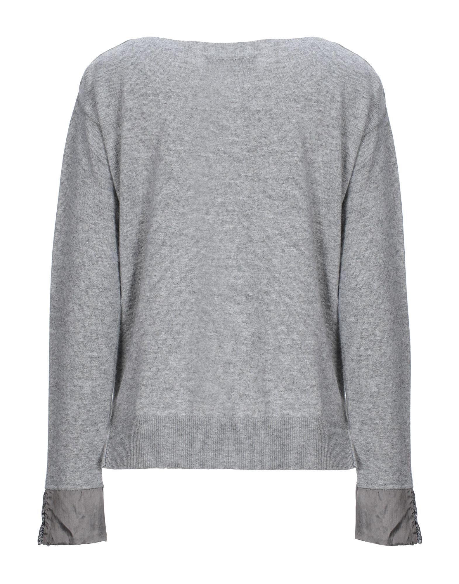Kaos Grey Lightweight Knit Jumper With Sequins