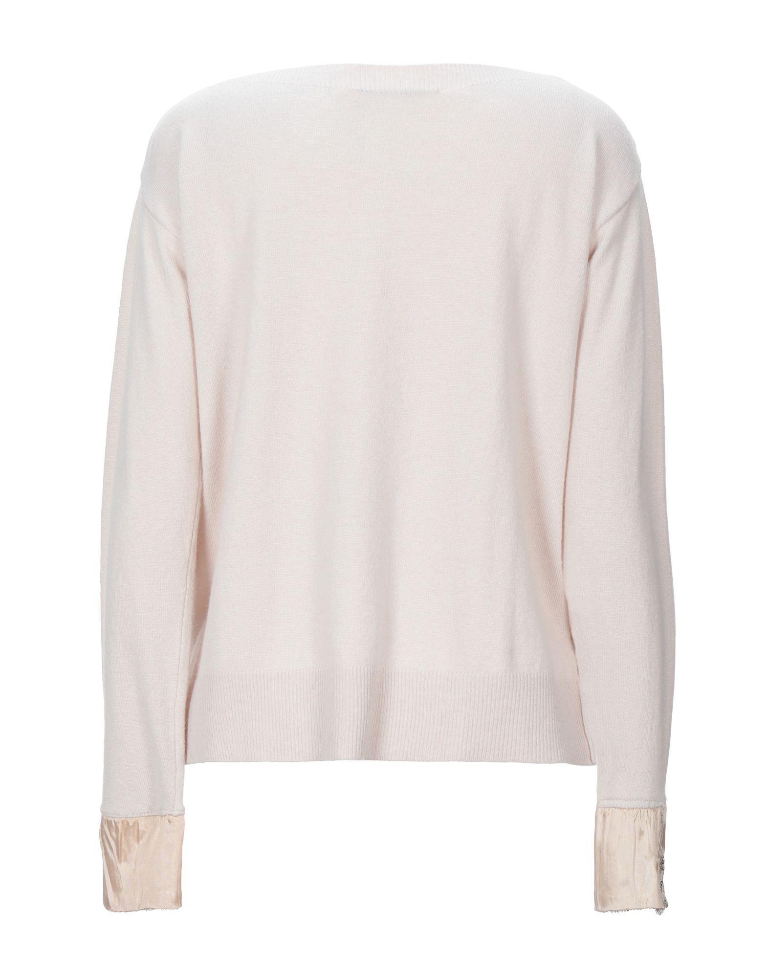 Kaos Ivory Knit Sequin Jumper