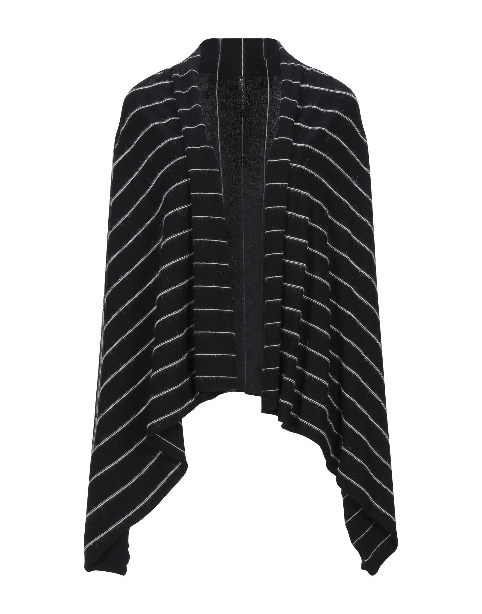 Manila Grace Black Knit Wrap