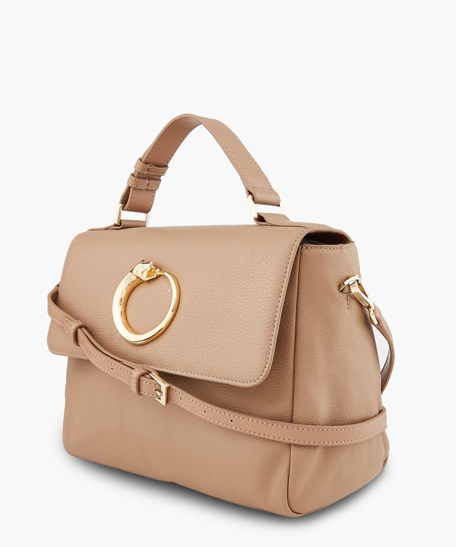 Ruby medium taupe shopper