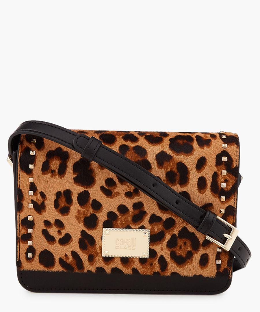 Justine small black shoulder bag